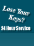 Lose Your Keys We provide 24 hour service